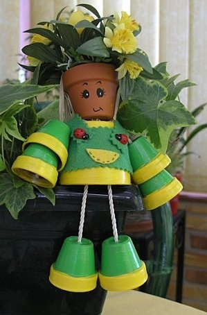 215 Best Images About Clay Pot People On Pinterest Clay