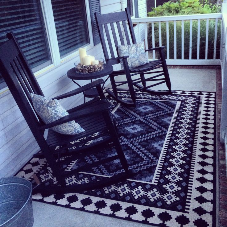 Tribal Rug Front Porch Style Zulily Find Backyard
