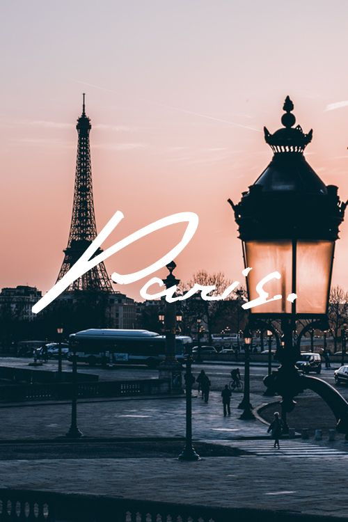 PARIS Pinterest : chandlerdubbrly