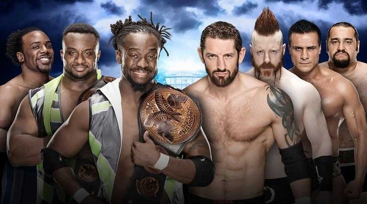 The New Day vs The League Of Nations #WWE #Wrestlemania32 #Wrestlemania