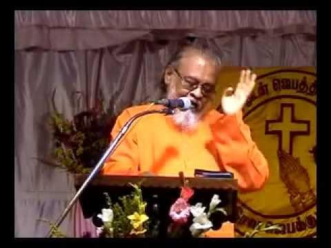 GOD came as Man - Tamil Christian sermon - Mr. Sadhu Chellapa