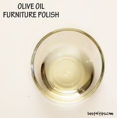 HOMEMADE+FURNITURE+POLISH+WITH+OLIVE+OIL