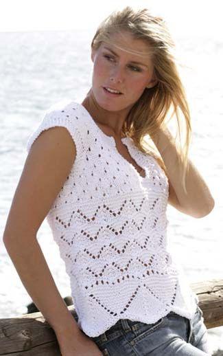 2918733338d6c modèle tricot debardeur ajoure   Dentelle debardeur crochet   Tricot ...