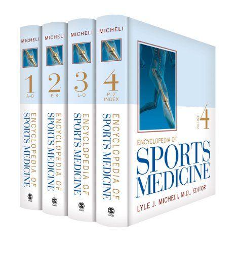 I'm selling Encyclopedia of Sports Medicine by Lyle J. Micheli M.D. - $25.00 #onselz