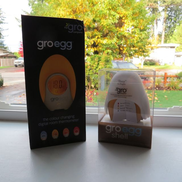 Learn to be a Mom: Gro-egg Digital Thermometer for your baby room #Re...
