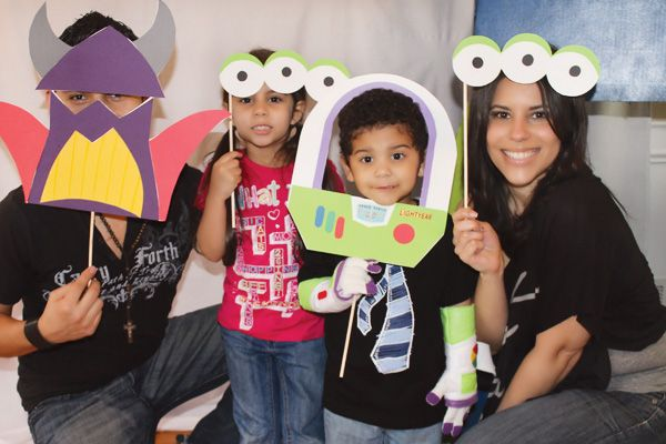Buzz Lightyear Inspired Toy Story Birthday Party // Hostess with the Mostess®
