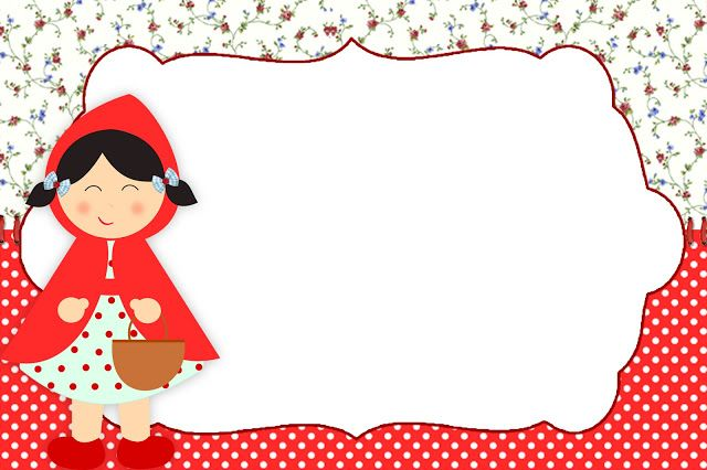 FREE printable little red riding hood tags (+ party kit)
