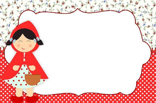 Montando a minha festa: Chapeuzinho vermelho Shabby Chic.(Para una fiesta)