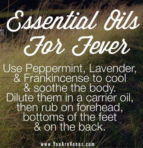 Essential Oils For Fever