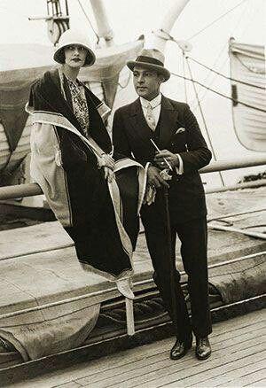 Rudolph Valentino and Natacha Rambova.