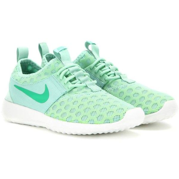 Nike Nike Juvenate Sneakers ($110) ❤ liked on Polyvore featuring shoes, sneakers, nike, zapatillas, green, green sneakers, nike trainers, nike footwear, nike shoes and nike sneakers