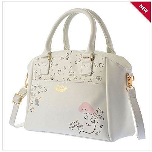 tokyo disney store limited tote bag like a girl white ariel official store