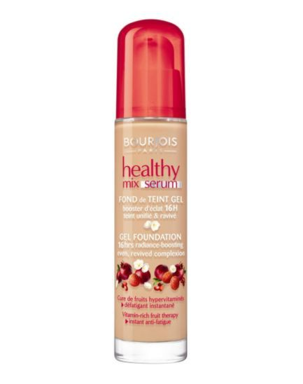 Bourjois Healthy Mix Serum Gel foundation - Boots £10.99 made in the same 'factory' as Chanel one. Dupe.  The best I have used.