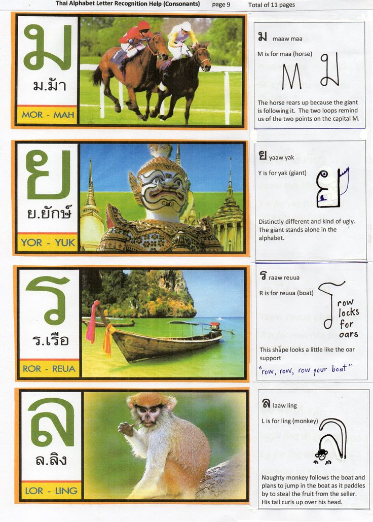 66 best Thai Alphabet images on Pinterest Thai alphabet - thai alphabet chart