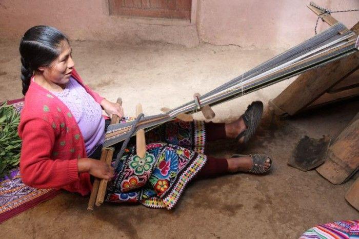 Pérou - Le tissage, une tradition millénaire dans les Andes !