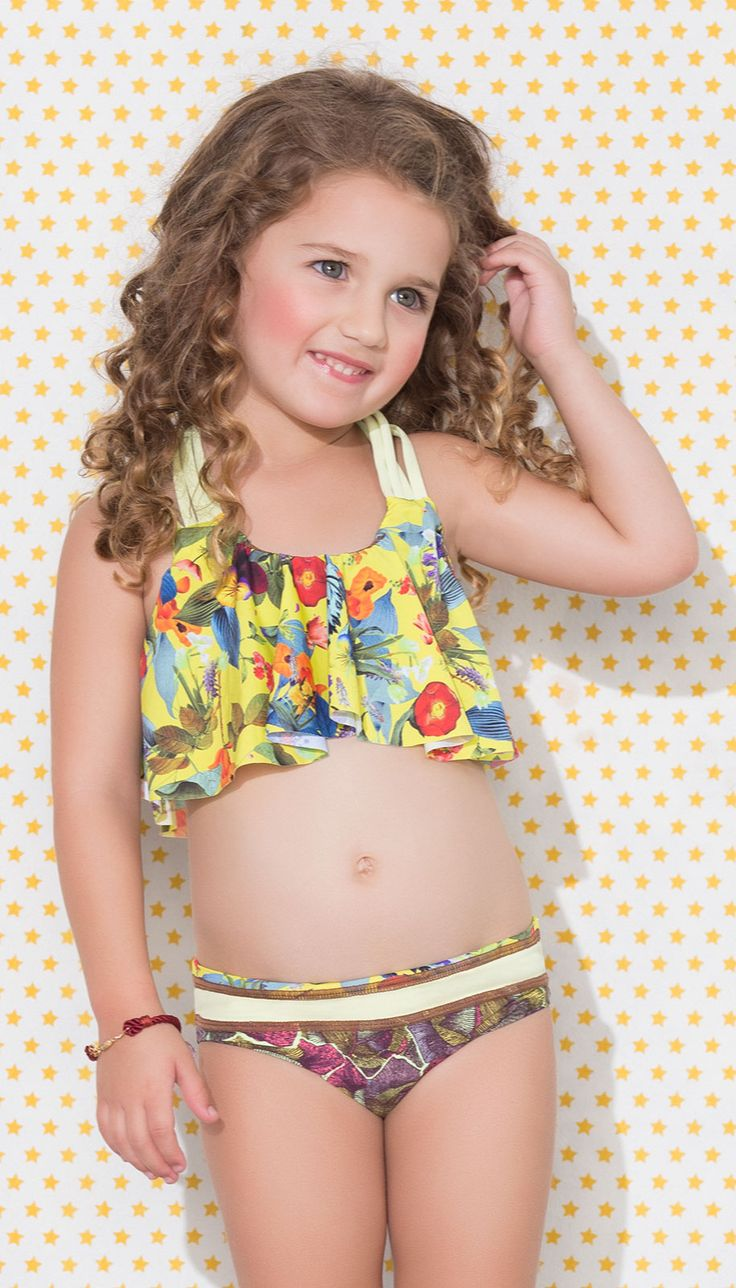 Maaji Girls Swimsuits - Bikini Derbyliscious l Beachwear for Children l www.CarolinaDesigns.com