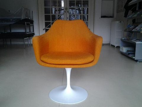 7 best images about les occasions design on pinterest tulip banquettes and - Fauteuil tulipe knoll ...