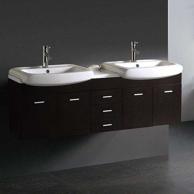 Photo Album Website Modern Double Sink Bathroom Vanity VGK by Vigo