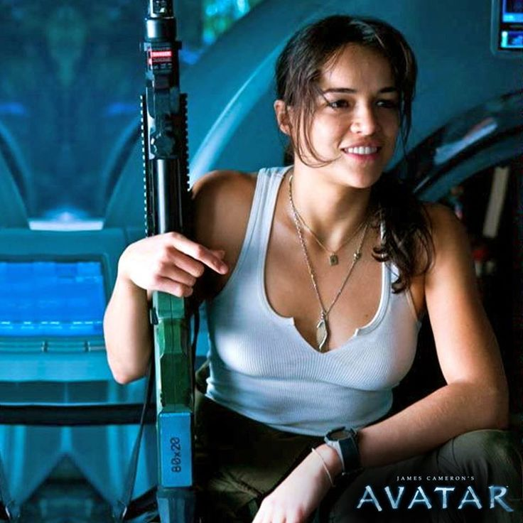 """Michelle Rodriquez. Avatar. """"I didn't sign up for this ..."""