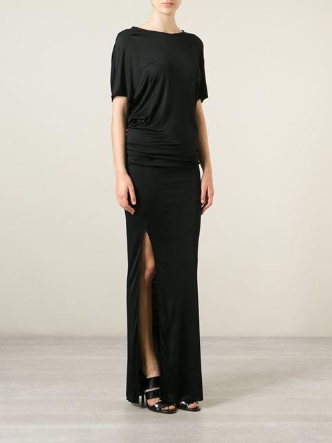 Msgm Draped Open Back Dress - Petra Teufel - Farfetch.com