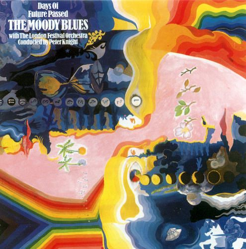 The Moody Blues - Days Of Future Passed These guys had some cool looking covers.