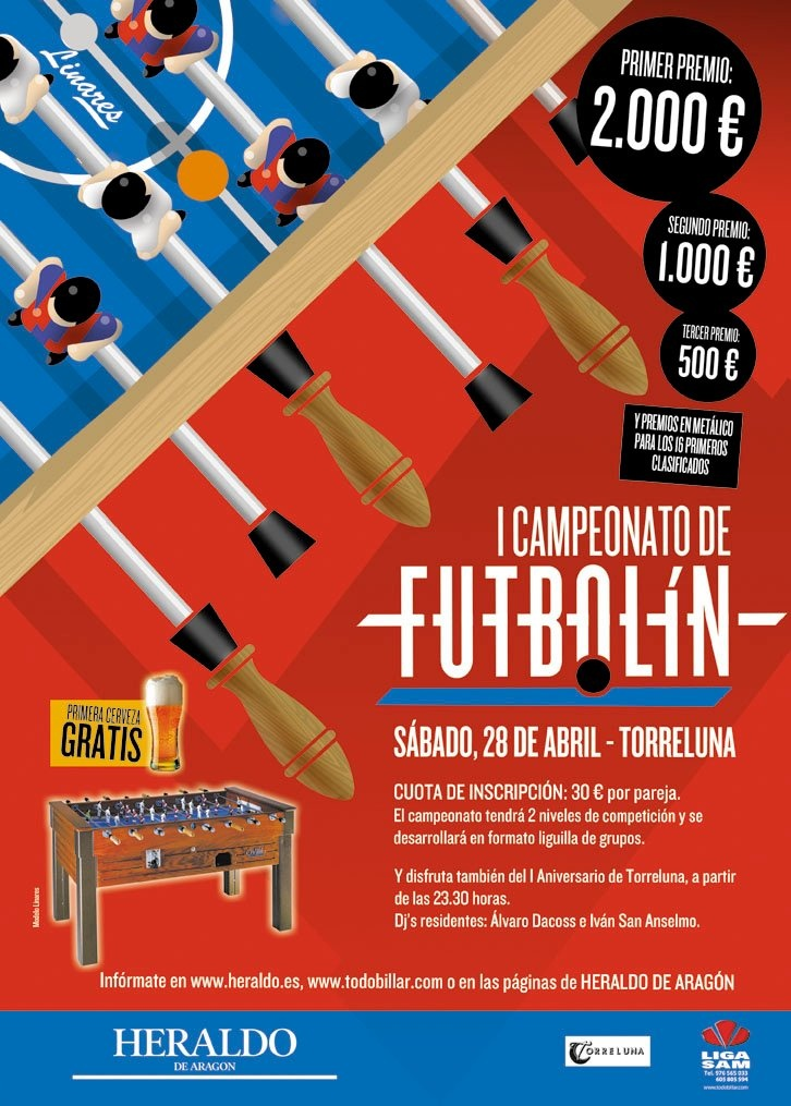 """Graphic design for """"First football table Championship"""""""
