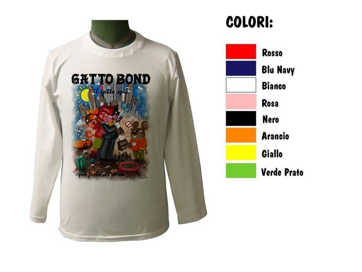 Segui le storie di GATTO BOND che trovi sulle varie t-shirt di CoccoBABY. (Illustrazioni di DENNI NERI) http://www.coccobaby.com/prodotto/articoli-bimbo/maglie-anallergiche/956/t-shirt-paricollo-ml-gatto-bond-metropolis