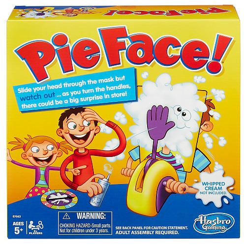 """For the kids - Pie Face Game -  Hasbro - Toys""""R""""Us"""