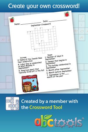Fun Activities - Word Searches - Puzzles - Games - Coloring Pages page 1 | abcteach