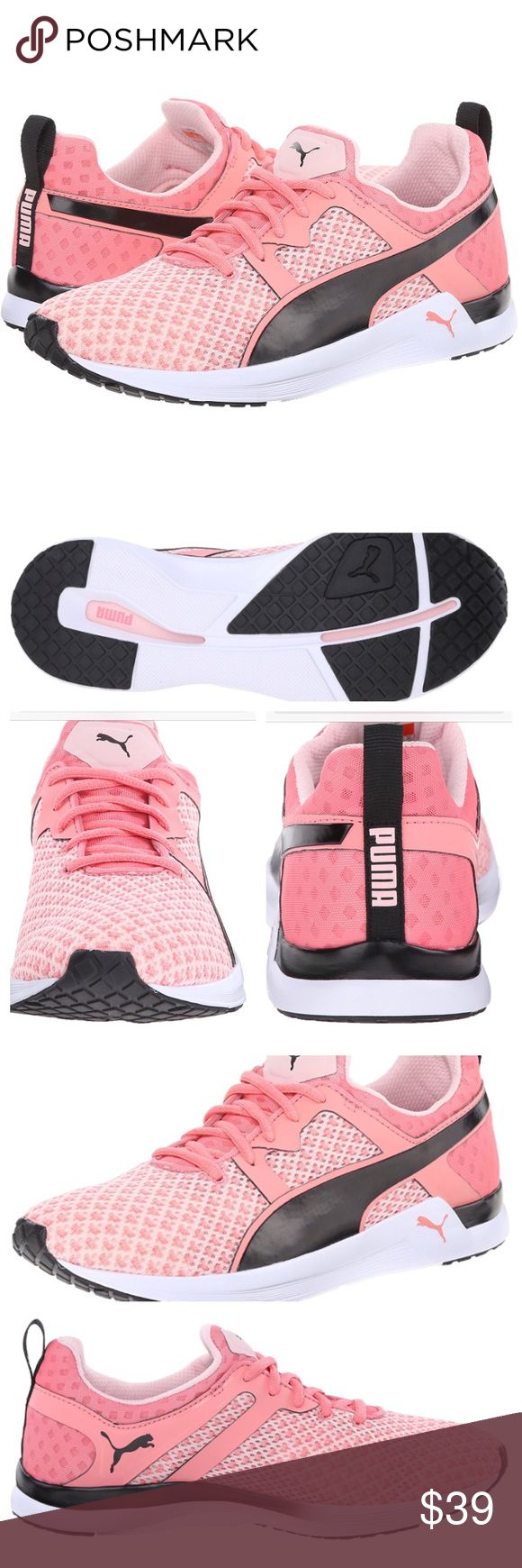 Puma Pulse XT Geo Cross-Training Shoe Pink Pulse XT Cross Trainers in Crystal Rose. Womens size 8.5 (US), 6 (UK), 39 (EUR). Like new - worn once for an hour for team photos, slight rubber marks on soles. See pix. Puma Shoes Sneakers