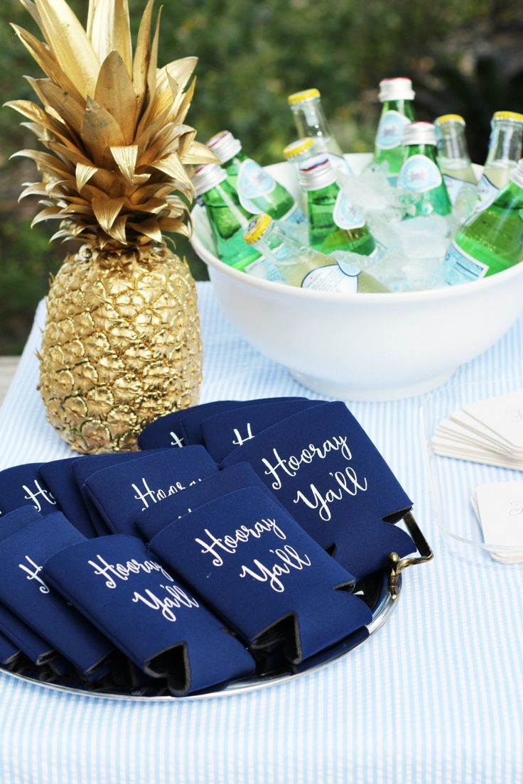 Low Country Boil Graduation Party || Winsome and Gold (www.winsomeandgold.com)