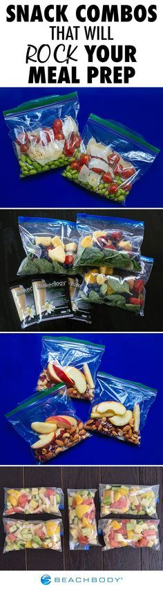 Snack Combos that Will Rock Your Meal Prep
