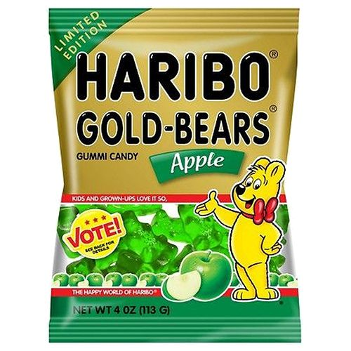 Deal of the Week: Haribo Gold-Bears Apple Gummi Candy - 4-oz, Bag
