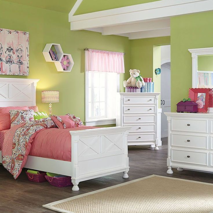 That Furniture Outlet - Minnesota's #1 Furniture Outlet. We have exceptionally low everyday prices in a very relaxed shopping atmosphere. Ashley Kaslyn 7 Piece Kids Bedroom Suite thatfurnitureoutlet.com #thatfurnitureoutlet  #thatfurniture  High Quality. Tremendous Selection. Exceptional Prices.