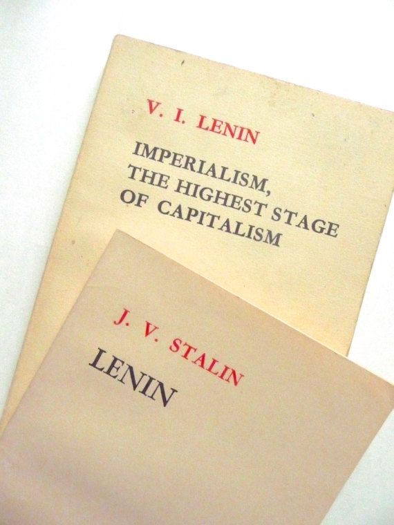Lenin by J. V. Stalin and Imperialism The Highest Stage of