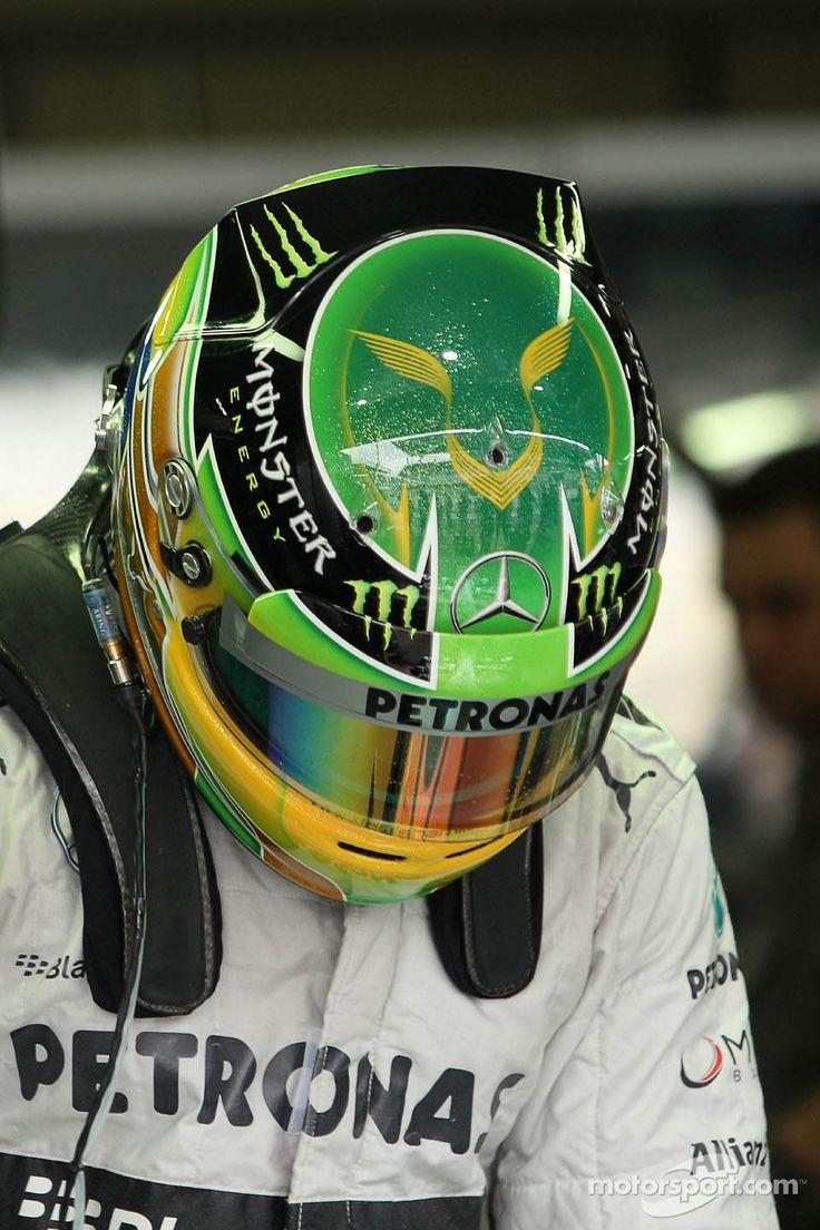 F1 Pilot: Lewis Hamilton of the 2013 Petronas AMG Mercedes Team