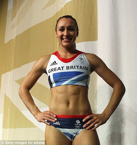 Team GB star Jessica Ennis and my role model!