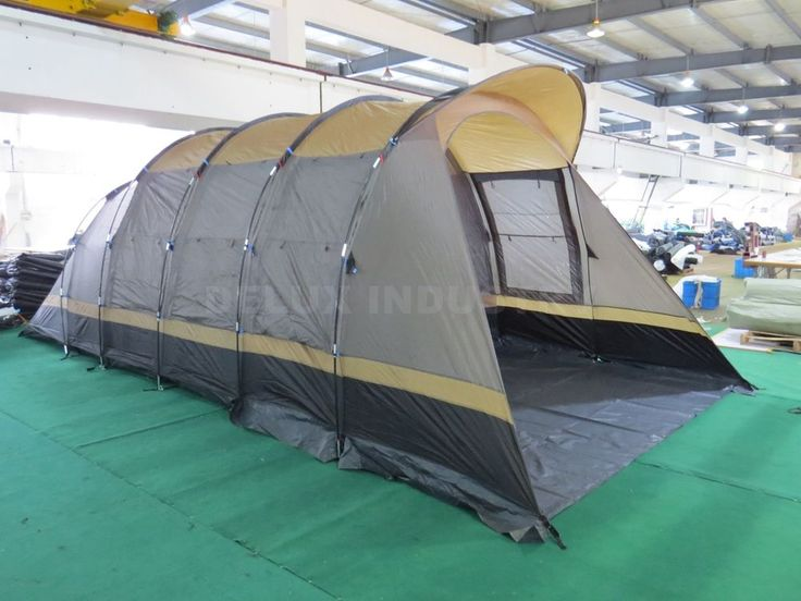Waterproof 8-10 Person Family Camping Large Tent Hiking Outdoor tunnel Tents #Unbranded #Tunnel