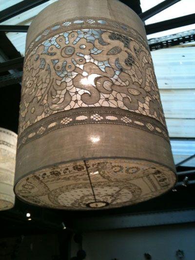 Kanten lamp