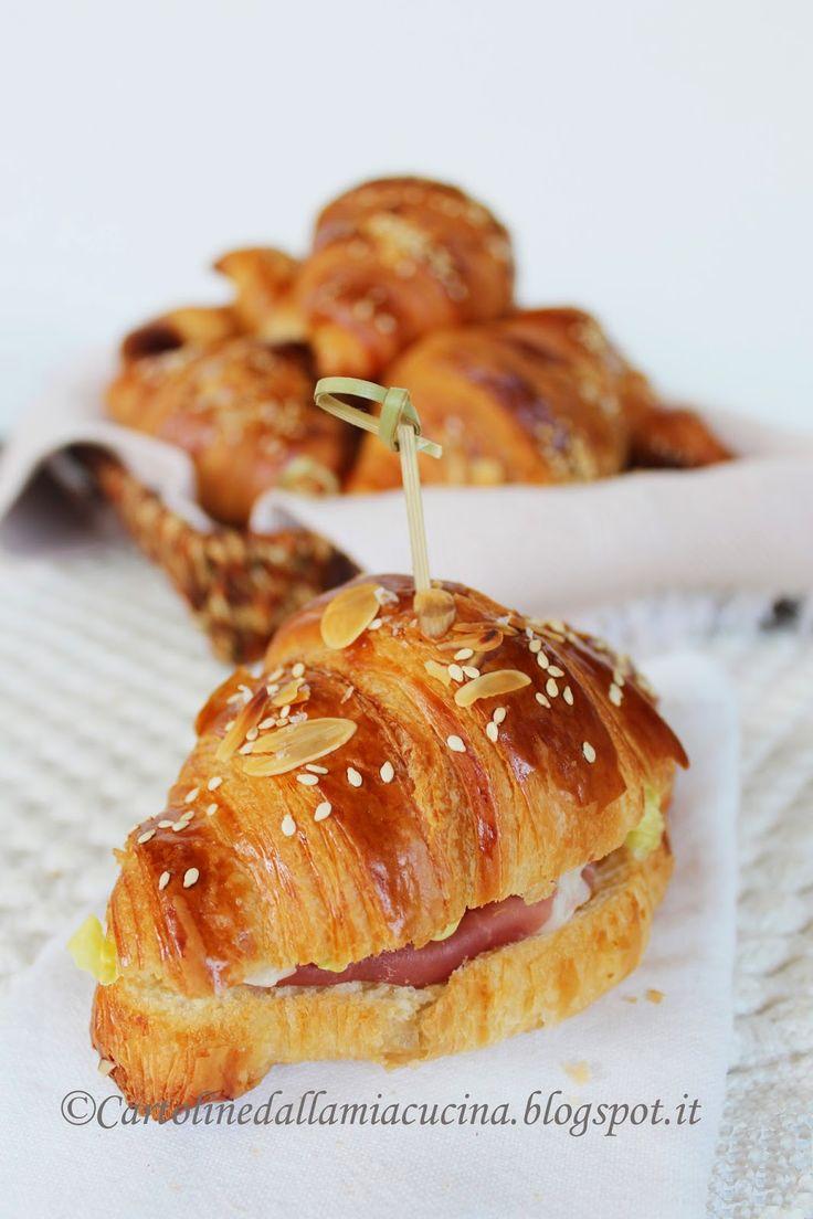 Cartoline dalla mia Cucina: Croissant Francesi