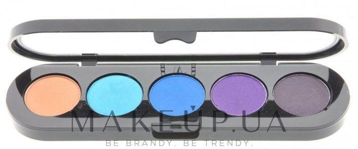 876 грн Палетка теней, 5 цветов - Make-Up Atelier Paris Palette Eyeshadows на makeup.com.ua — фото T02 - Warm Brown