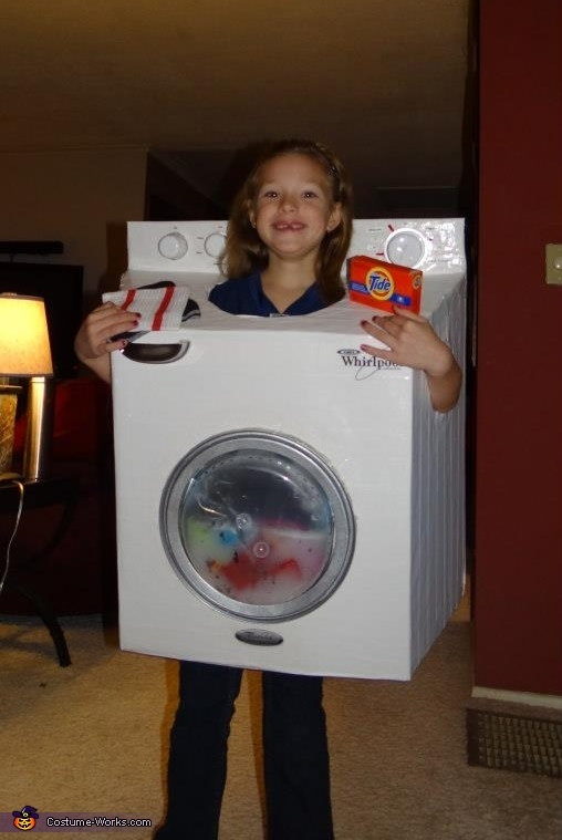 Washing Machine Costume Costumes Places And To Read
