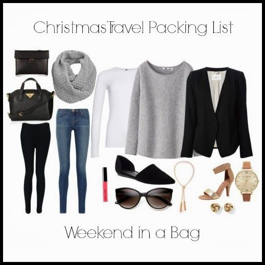 Christmas Travel Packing Lists