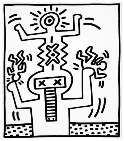 Balancing Figures I by Keith Haring https://artsation.com/en/shop/keith-haring