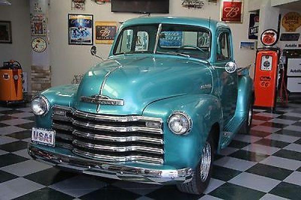 Chevrolet: C/K Pickup 1500 1952 chevy pickup teardrop camper combo