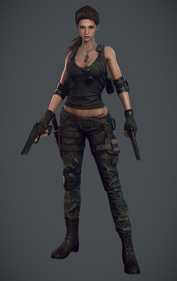 ArtStation - main character_tf_Woman_01, Ui Joo Moon