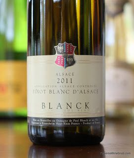 Paul Blanck Pinot Blanc d'Alsace 2011 - The Magic Continues. Alsace delivers a delicious, complex AND easy drinking wine. http://www.reversewinesnob.com/2013/08/paul-blanck-pinot-blanc-dalsace.html