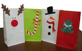 christmas goodie bags for kids - Google Search