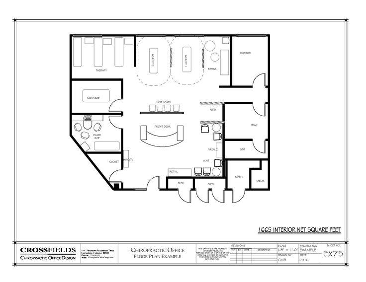 132 best Chiropractic Floor Plans images on Pinterest