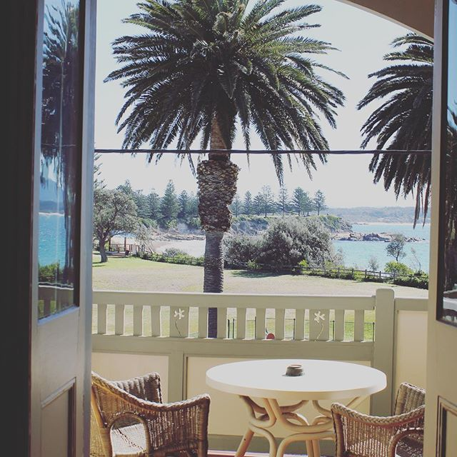 Room with a view @bermaguibeachhotel #pubroomsaus #visitnsw #bermagui #beachfront
